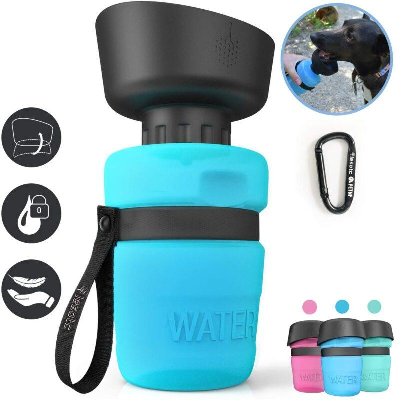 Water bottle to cool down your dog