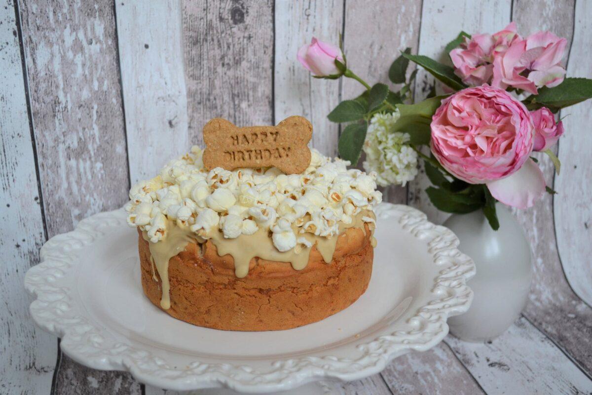 Celebrate Your Dog's Birthday Dog Cake