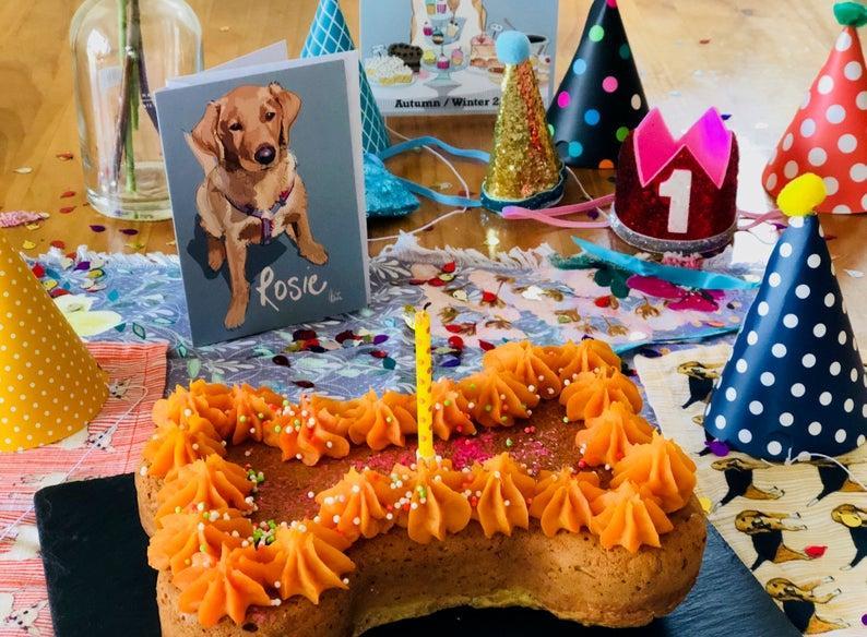 Celebrate Your Dog's Birthday Dog Birthday Cake