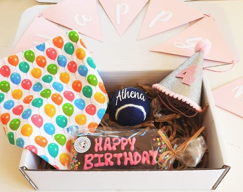 Celebrate Your Dog's Birthday Pawty Box