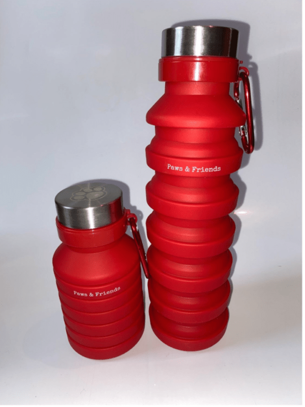 Paws And Friends Collapsible Travel Bottle
