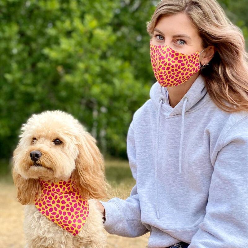 Dog Bandanas and Face Masks