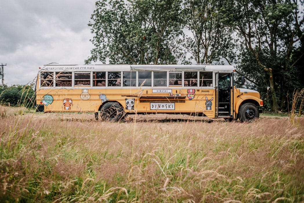 The Dinobus in Cornwall